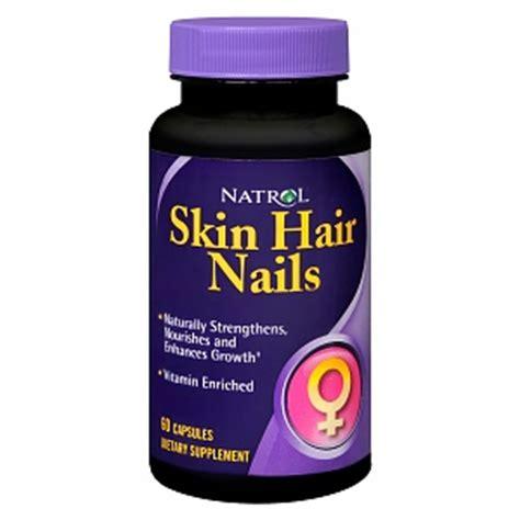 Natrol Skin Hair Nails 60 Capsules natrol skin hair nails for capsules drugstore