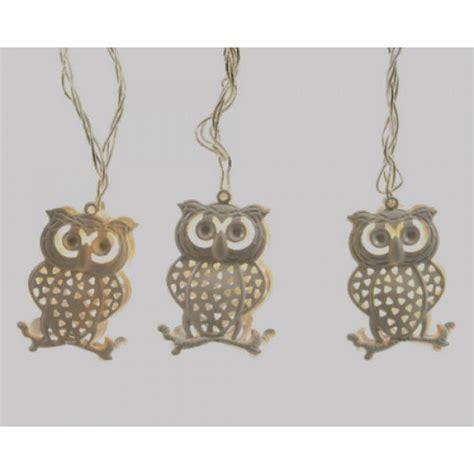 Lu Led Owl lumineo iron owl led lights