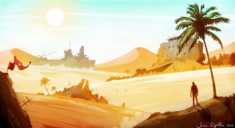 design for environment concept desert wasteland environment concept art by blazexxl on