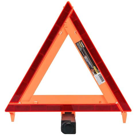 home depot paint triangles keeper 17 in orange folding safety triangle 04910 the