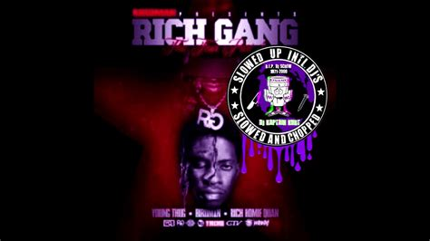 young thug imma ride young thug imma ride chopped and screwed remix by