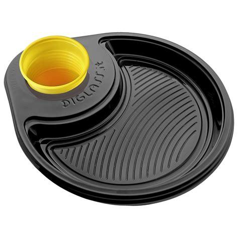 piatti e bicchieri di carta on line 30 piatti monoscomparto neri diglass il piatto di