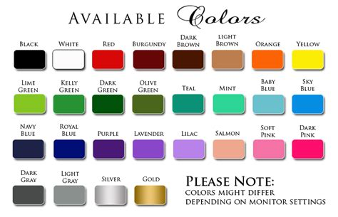 all color names once upon a time 2 color name princess vinyl wall