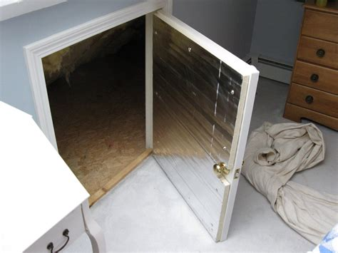 Attic Crawl Space Door by How To Insulate A Crawlspace Door A Concord Carpenter