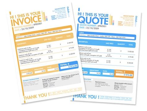 graphic design quote template 10 creative invoice template designs the o jays