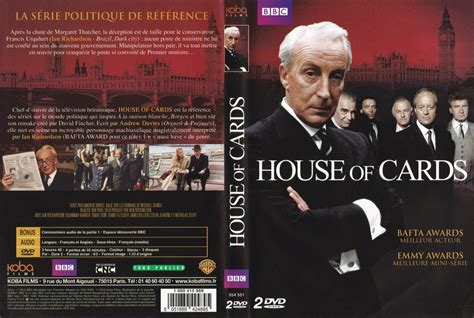 british house of cards jaquette dvd de house of cards saison 1 uk cin 233 ma passion