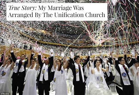 Wedding Blessing Church Of by True Story My Marriage Was Arranged By The Unification