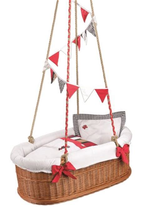 baby basket swing 35 suspended cradles modern baby room ideas and