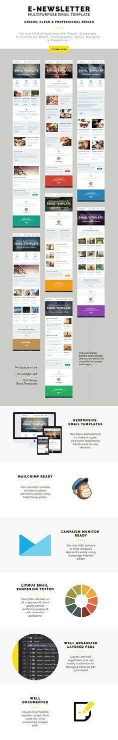 layout newsletter responsive best designed mailchimp newsletters חיפוש ב google