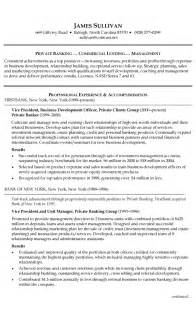 Job Bank Resume by Banking Resume Templates