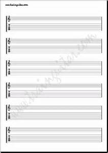 Blank Guitar Sheet by Guitar Tab Blank Sheet Pdf New Calendar Template Site
