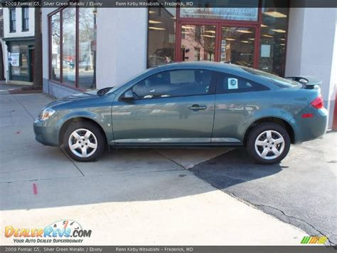 Pontiac G5 2009 by 2009 Pontiac G5 Silver Green Metallic Photo 2