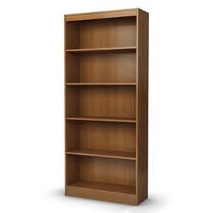 lowes bookshelves south shore furniture axess adjustable 5 shelf bookcase