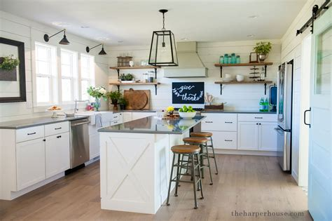 fixer upper kitchen cabinets our farmhouse kitchen reveal the harper house