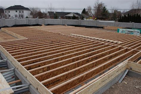 Floor Joist by Scianda This Is How To Build A Concrete R For A Shed