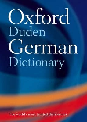 German Science Dictionary oxford duden german dictionary blackwell s bookshop