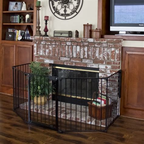 Baby Fireplace Safety by Baby Safety Fence Hearth Gate Bbq Gate Fireplace