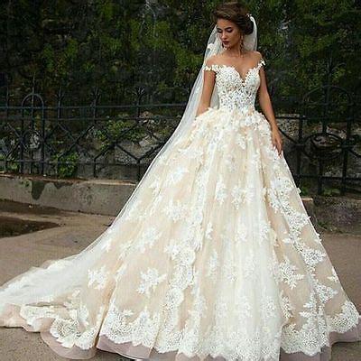 hochzeitskleid off shoulder elegant off shoulder princess lace bridal ball gown