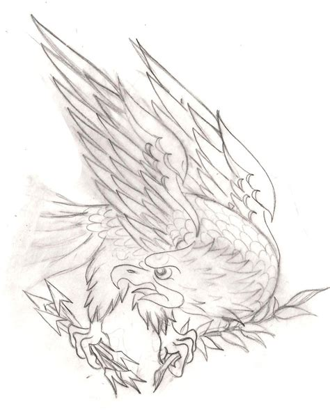 american traditional eagle tattoo american traditional eagle 2 by metacharis on