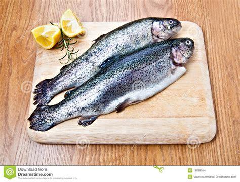 pesci da cucinare pesci pronti da cucinare immagini stock immagine 18838554