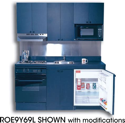 acme rogy compact kitchen  stainless steel