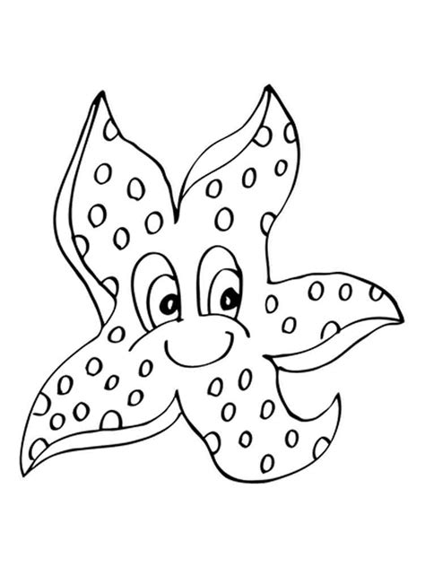 starfish coloring pages starfish coloring pages to and print for free