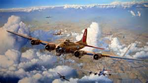Military - Boeing B-17 Flying Fortress Wallpaper B 17 Flying Fortress Wallpaper