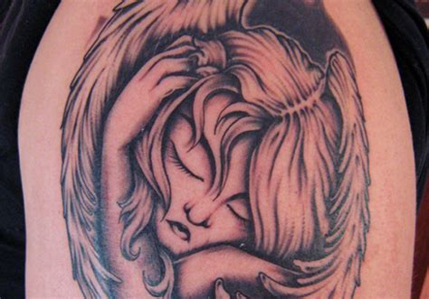 sad angel tattoo designs 25 designs creativefan