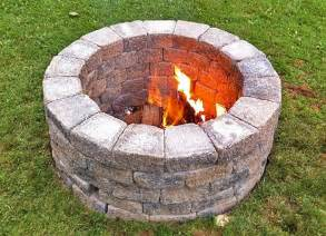 Fire Pit Ring Kit by Diy Propane Fire Pit Home Decorating Ideasbathroom