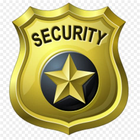 badge clipart security officer badge security officer