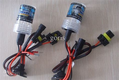 Bohlam Hid Xenon Single Beam H1 H7 H11 Hb3 Hb4 35w single beam hid xenon bulbs 9005 9006 h1 h3 h7 h11 h10