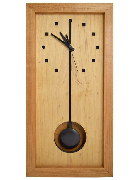contemporary wall clocks with pendulum design cool ideas