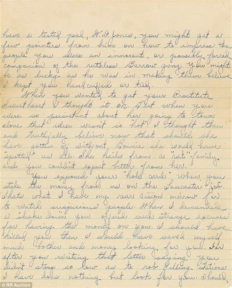 up letter boston sour letter from bonnie and clyde to ex ally up for