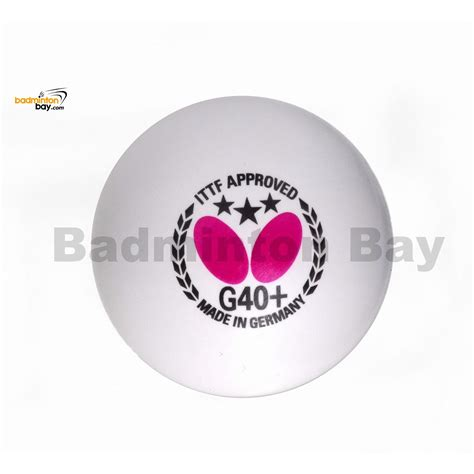 butterfly 3 star g40 made in germany plastic tennis