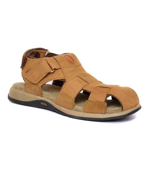woodland brown sandals woodland brown leather sandals for price in india buy