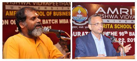 The Mba Program Past And Present by Mba Programs Inaugurated At Amrita Amrita Vishwa