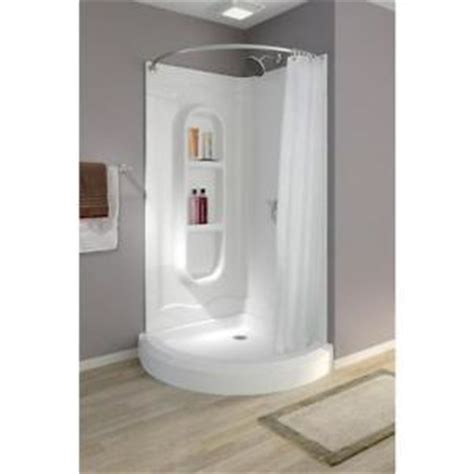 Portable Bathtub For Shower Stall by Freesia 38 Quot Shower Enclosure Stall Kit White Inc Walls Base Drain Rod 455020 New