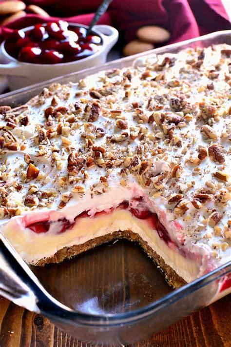 cheese cake cherry cherry cheesecake lush dessert lemon tree dwelling