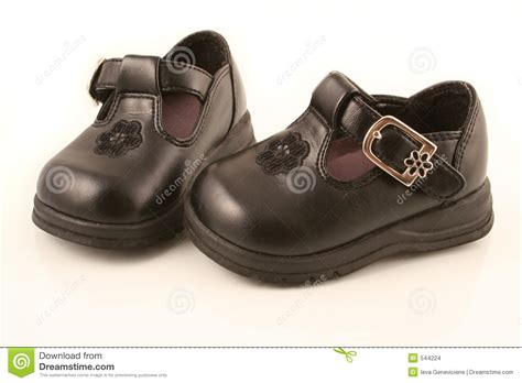 Black Babyheels black baby shoes stock images image 544224