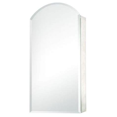 pegasus 15 in x 30 in recessed or surface mount mirrored