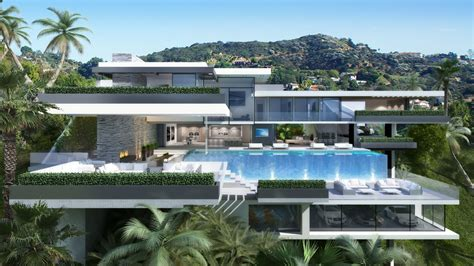 mansion design two modern mansions on sunset plaza drive in la 8 homedsgn