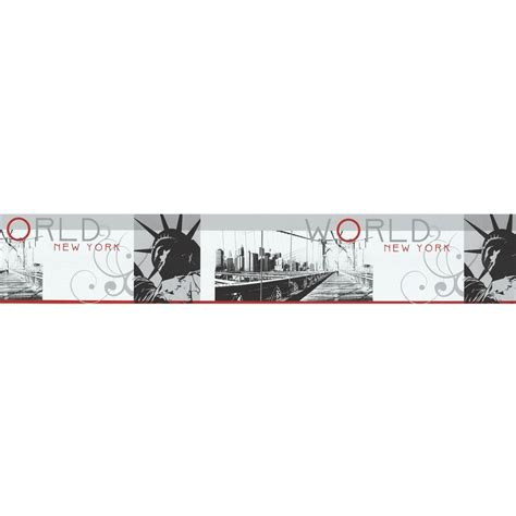 Bande Tapisserie Autocollante by Frise Adh 233 Sive New York 5m Frise Et L 233 Unique Papier