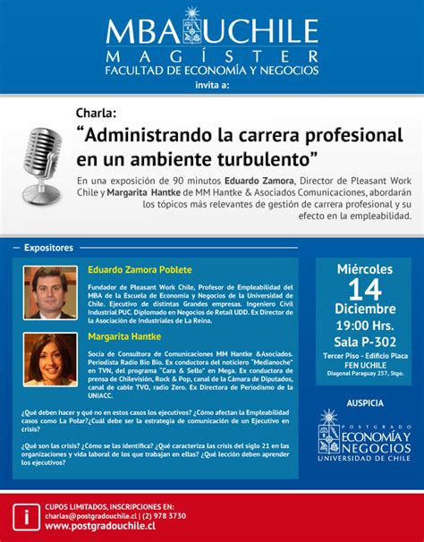 Mba Programs In Chile by Eventos