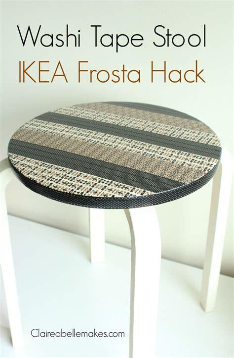 ikea hack colourful step stool with washi tape petit bout de chou 1000 ideas about ikea stool on pinterest ikea bekvam