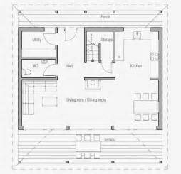 Floor Plans For A Small House by Australian House Plans Small Australian House Plan Ch187