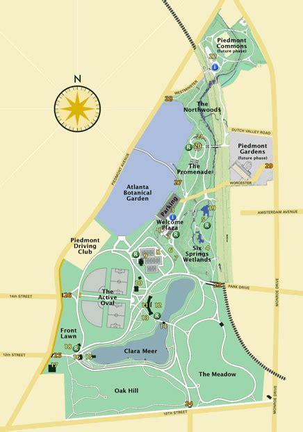 piedmont park em atlanta