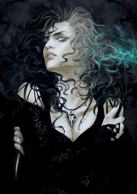 by harry fayt sensuous feeling pinterest bellatrix lestrange has a yoshitaka amano feel and also