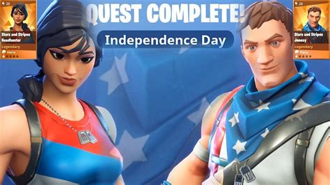 fortnite independence day heroes stars  stripes