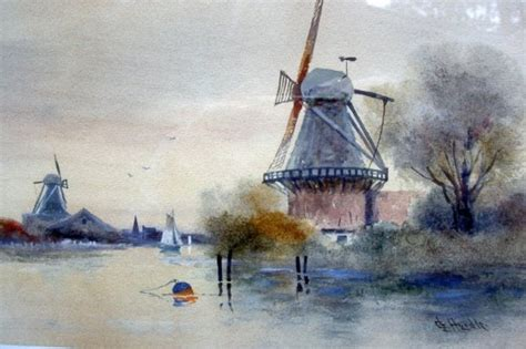 Tile Souvenir Rollan windmill paintings mafiamedia