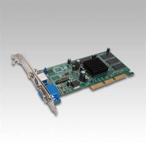 Vga Agp Ati Radeon 7000 64mb Ddr Agp Vga Rca Tv Out Card